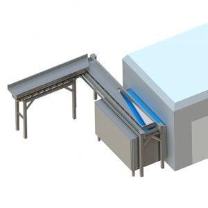 Infeed Freezer - Cox & Plant