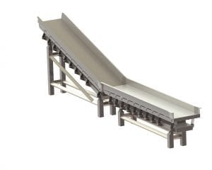 3D Incline Conveyors SYSTEM