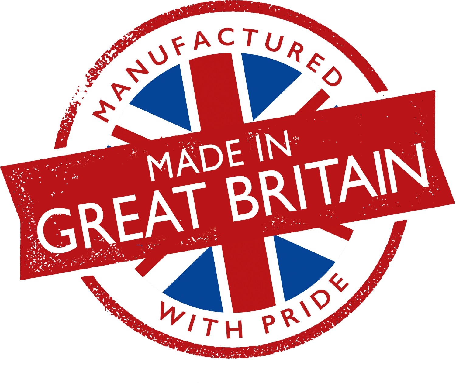 Made in Great Britain - Manufactured with Pride
