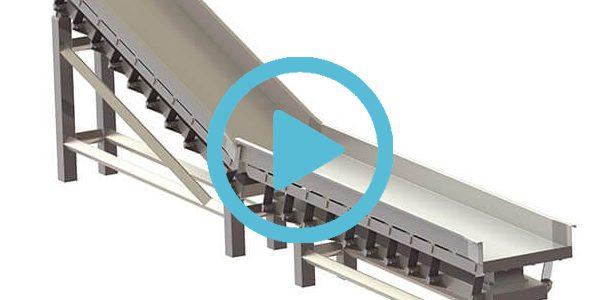 incline conveyor videos